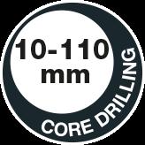 Core drilling 110