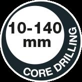 Core drilling 140