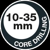 Core drilling 35