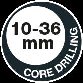 Core drilling 36