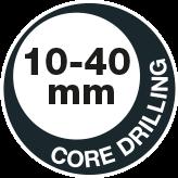 Core drilling 40