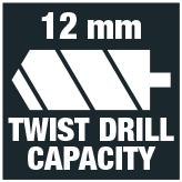 Twist drill 12