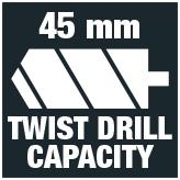 Twist drill 45