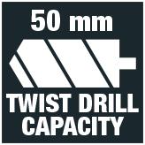 Twist drill 50