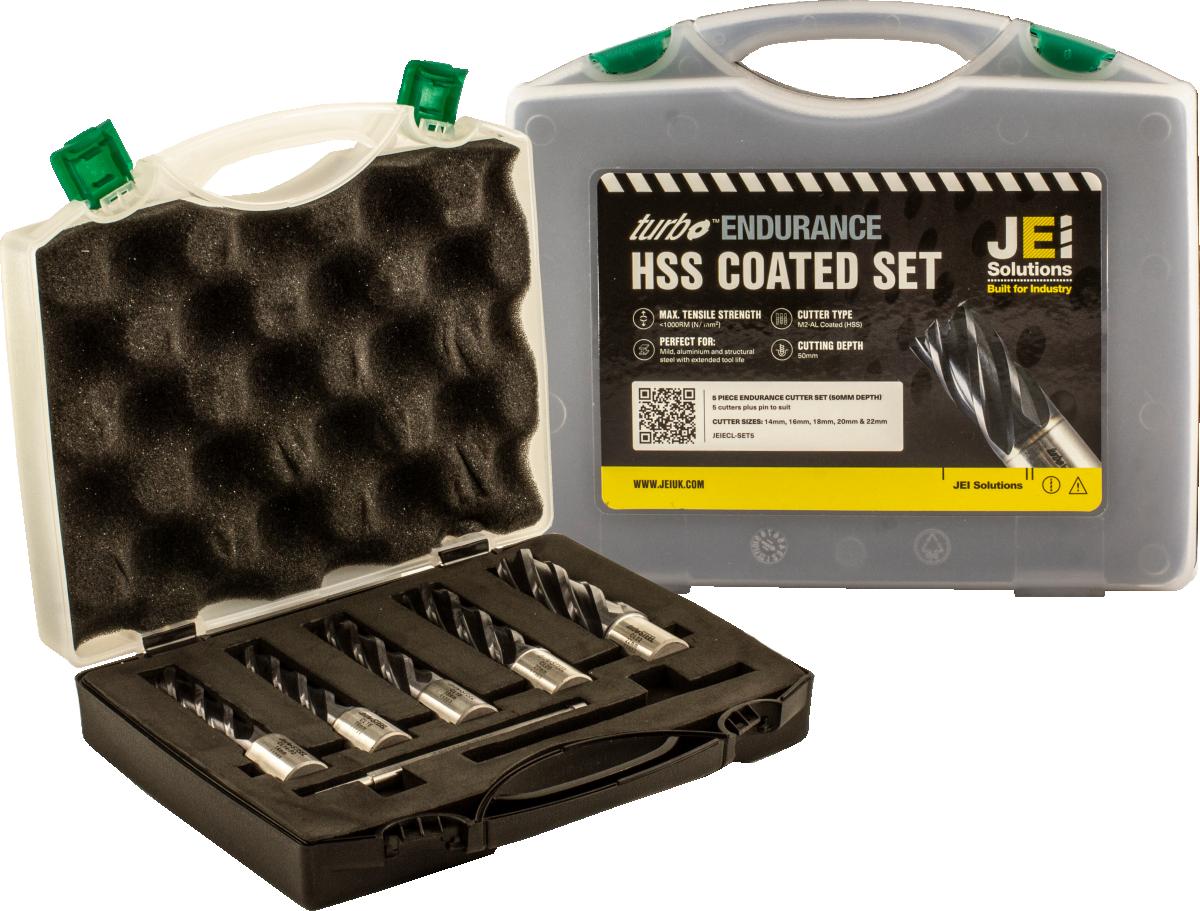 5 Piece Endurance Cutter Set (50 mm D.O.C)