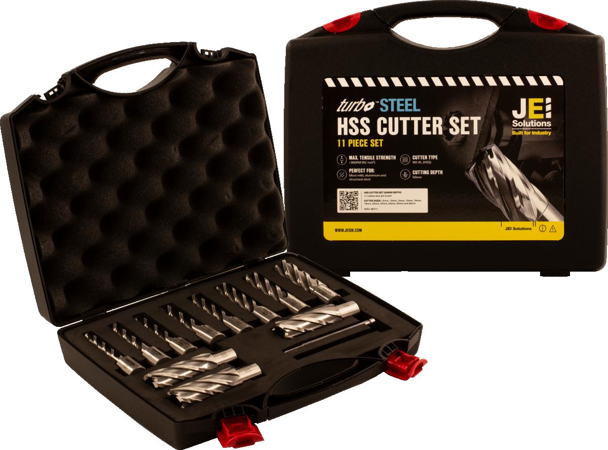 11 Piece HSS Cutter Set (50 mm D.O.C)