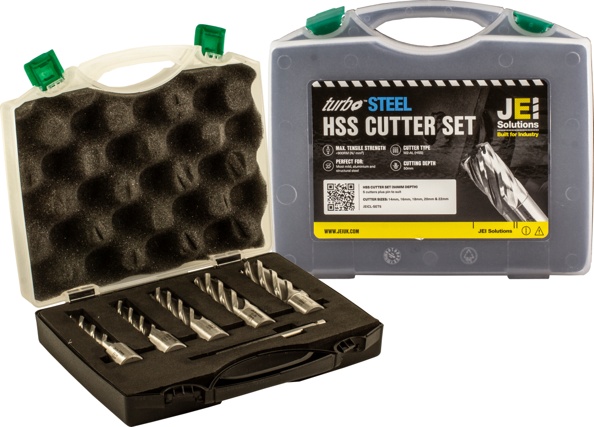 5 Piece HSS Cutter Set (50 mm D.O.C)