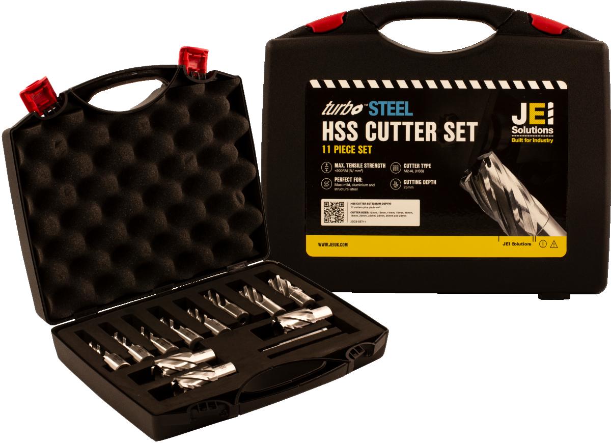 11 Piece HSS Cutter Set (25 mm D.O.C)
