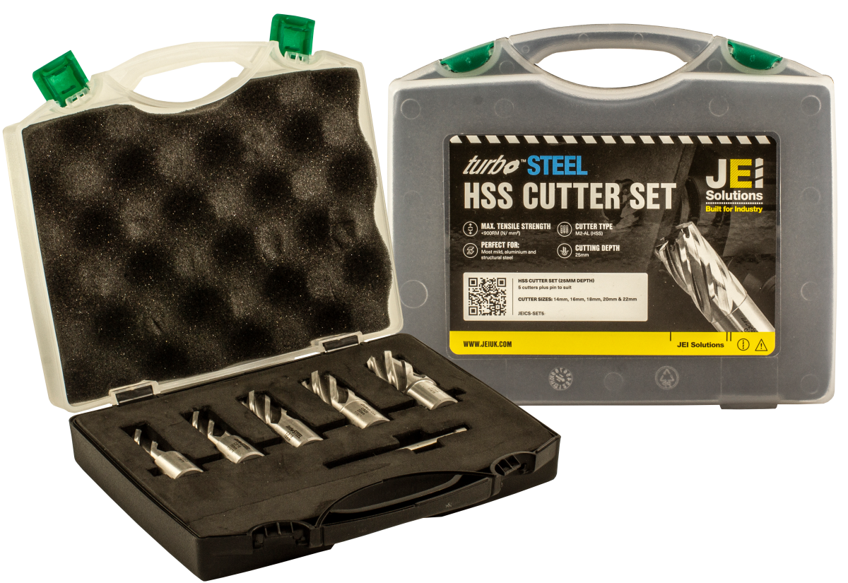 5 Piece HSS Cutter Set (25 mm D.O.C)