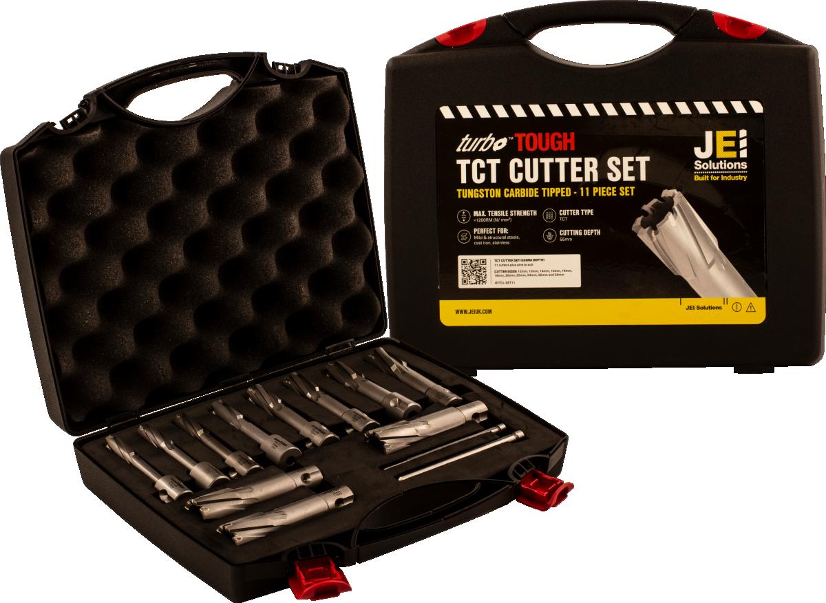 11 Piece TCT Cutter Set (55 mm D.O.C)