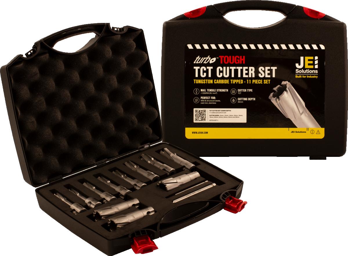 11 Piece TCT Cutter Set (35 mm D.O.C)