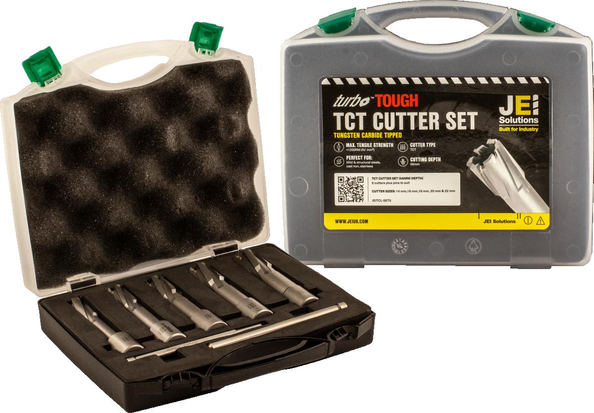 5 Piece TCT Cutter Set (55 mm D.O.C)