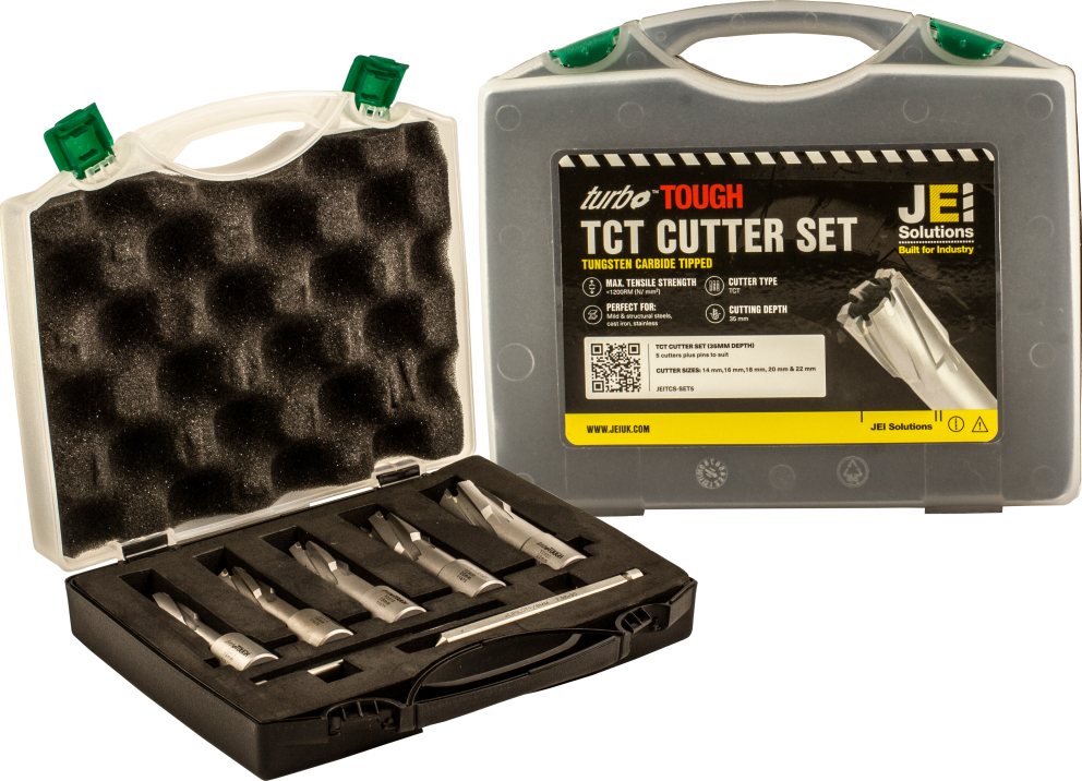 Available as a set of TCT cutters